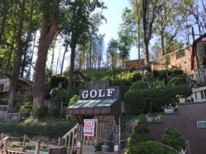 gatlin's fun center mini golf